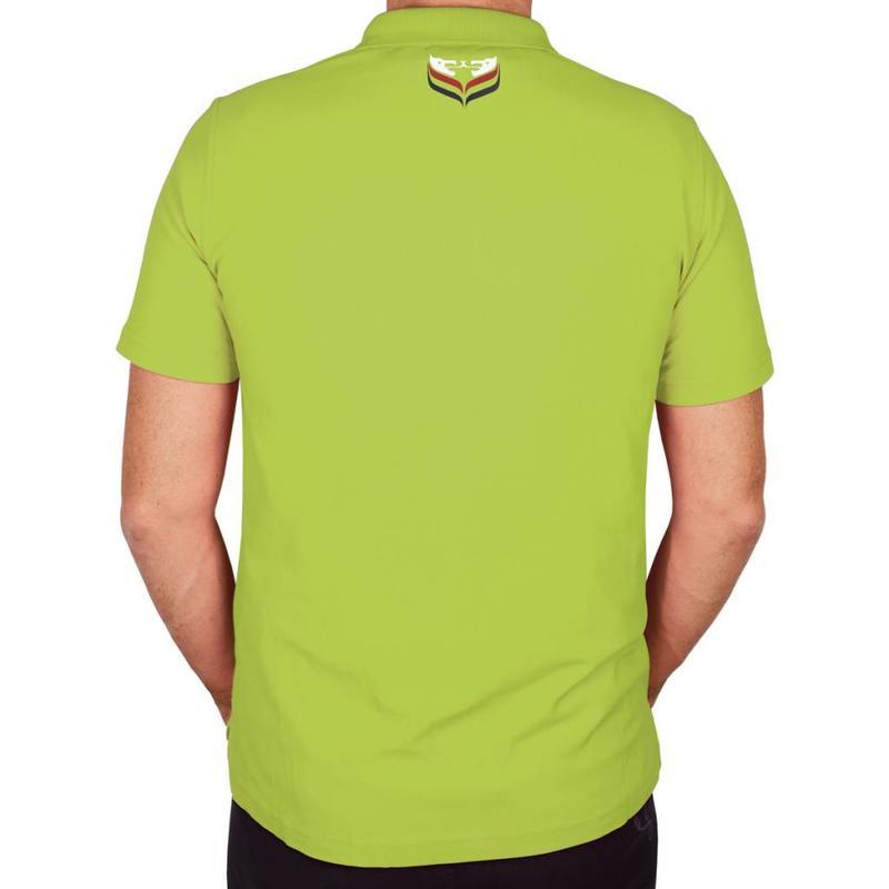 Q1905 Heren Polo JL Flag Light Green