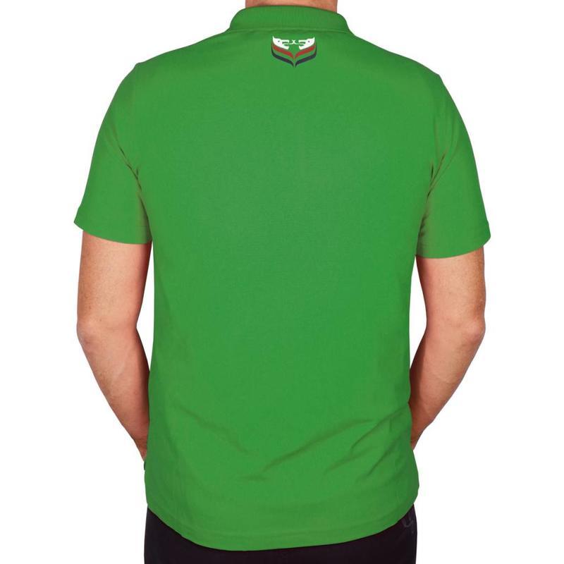 Q1905 Heren Polo JL Flag Green