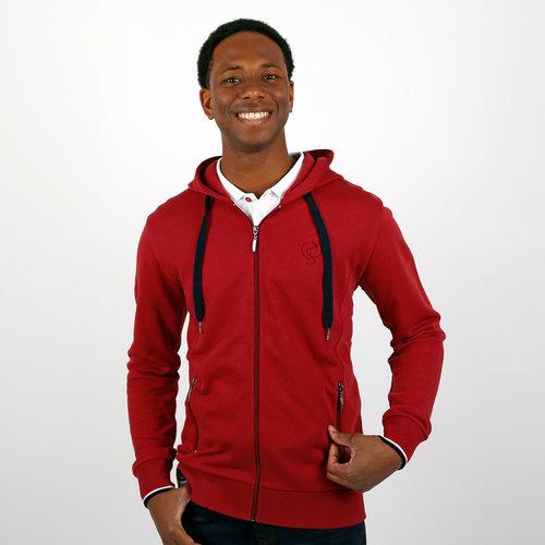 Men's Vest Almere - Dark Red