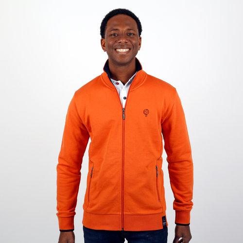 Heren Vest Amerongen - Roest Oranje