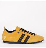 Q1905 Men's Sneaker Typhoon SP - Dark Ochre Yellow/Dark Blue