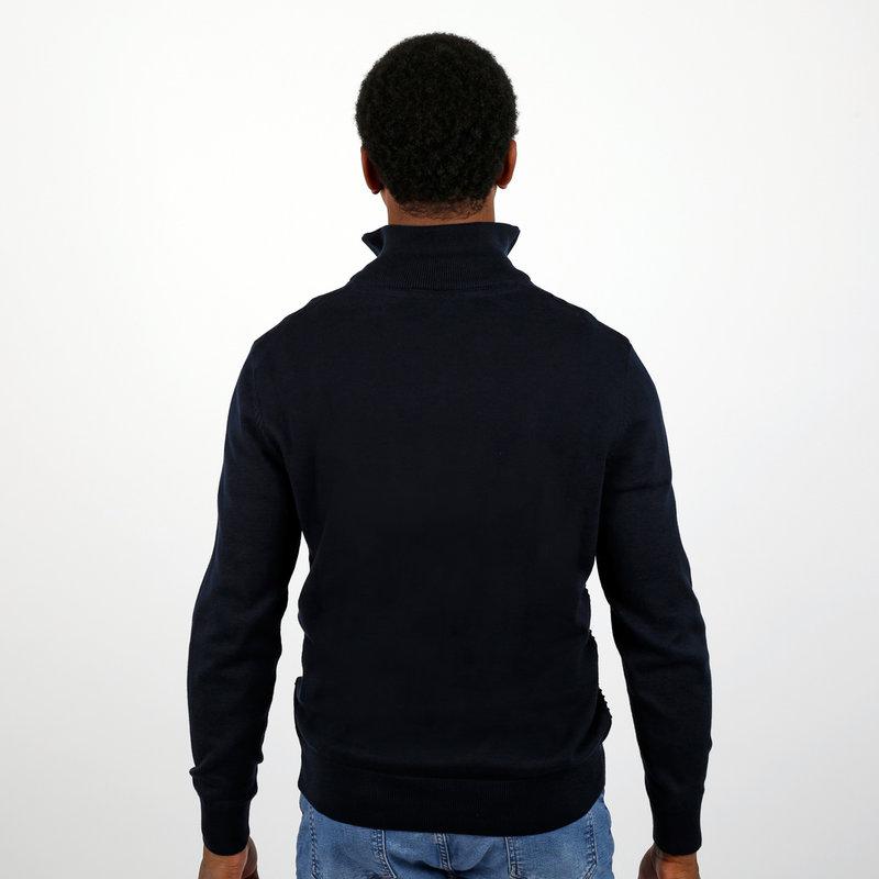 Q1905 Men's Pullovet Woudrichem - Dark Blue