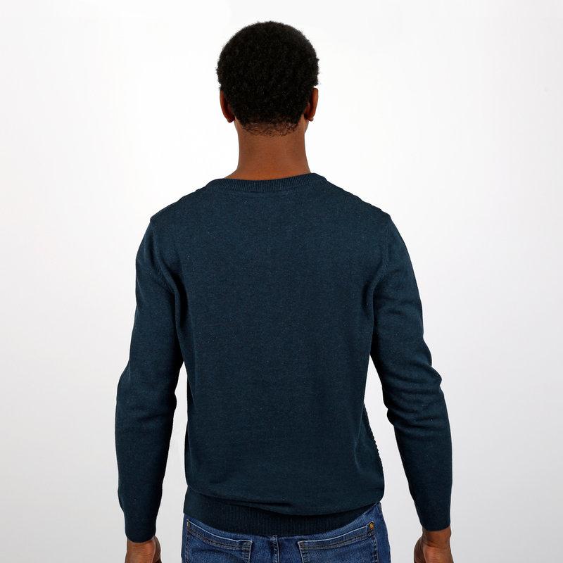 Q1905 Men's Pullovet Aalsmeer - Denim Blue