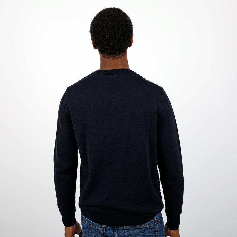 Q1905 Men's Pullovet Aalsmeer - Dark Blue