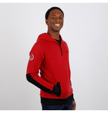 Q1905 Men's Pullover Rijnsburg - Dark Red/Black