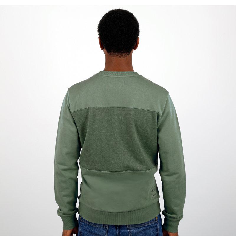 Q1905 Men's Pullover Zaandijk - Oase Green