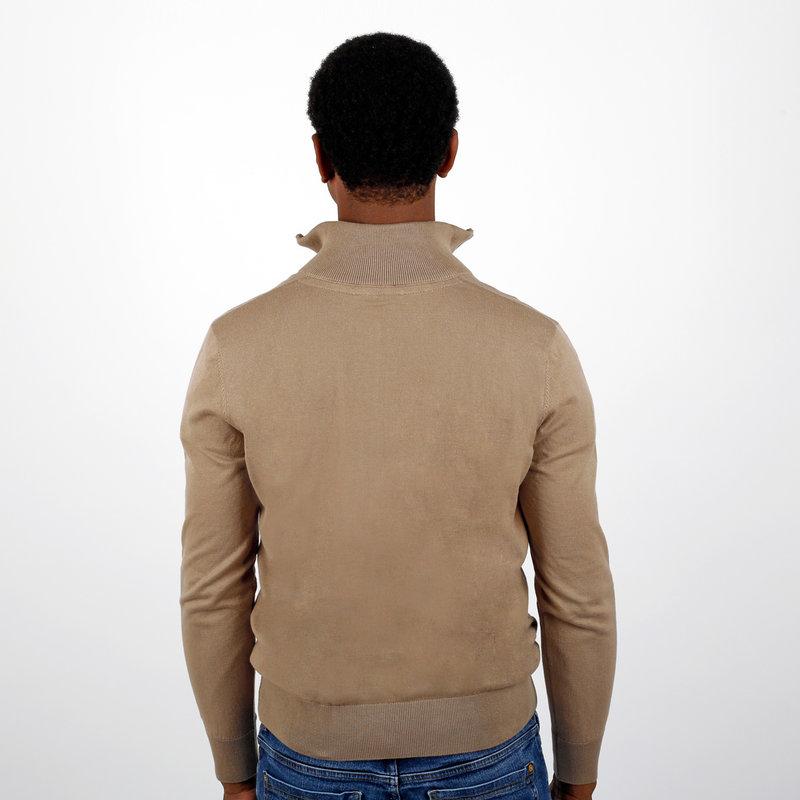 Q1905 Men's Pullover Kralingen - Mid Brown