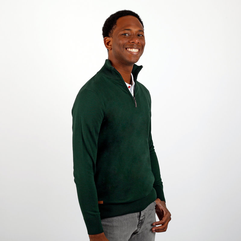 Q1905 Men's Pullover Kralingen - Dark Green
