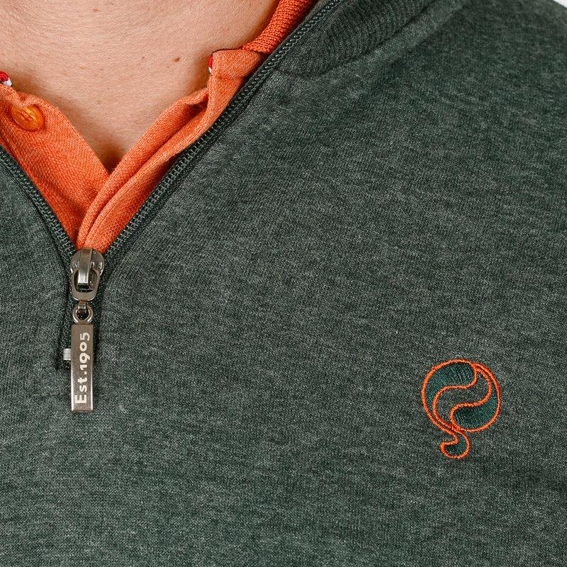 Q1905 Men's Pullover Hoevelaken - Green