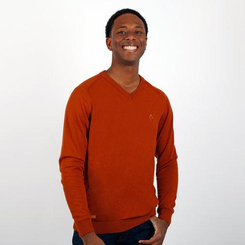 Men's Pullover Heemskerk - Rust Orange