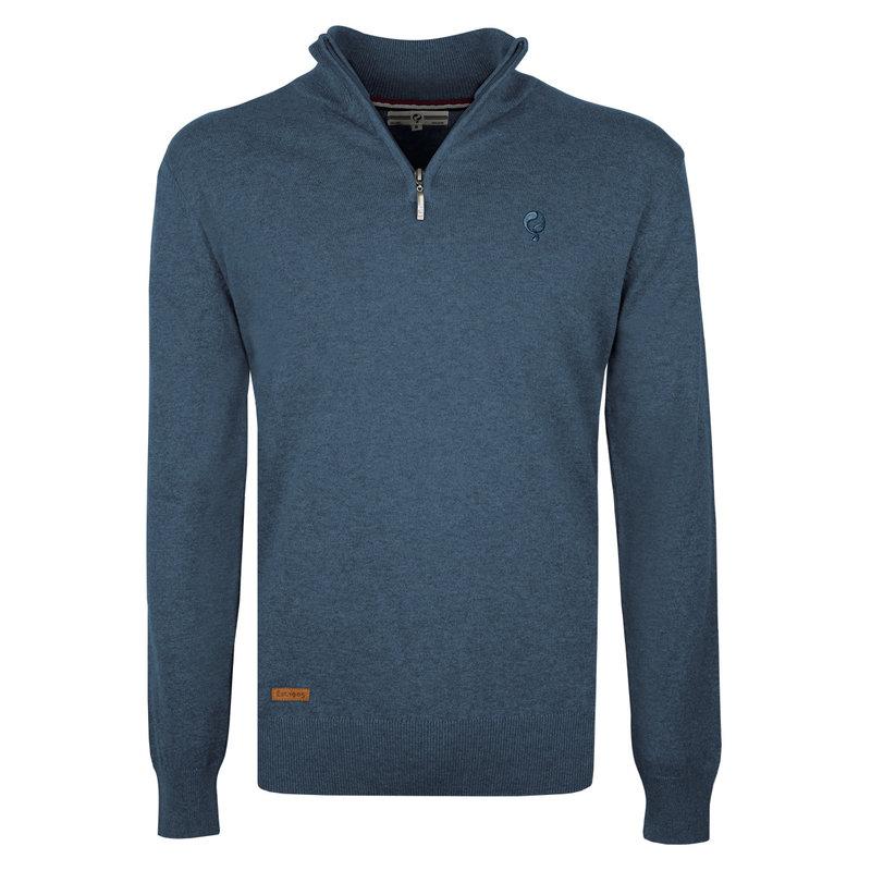 Q1905 Men's Pullover Kralingen - Light Denim Blue