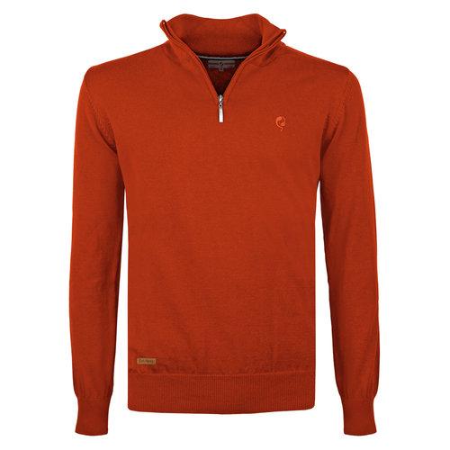 Men's Pullover Kralingen - Rust Orange