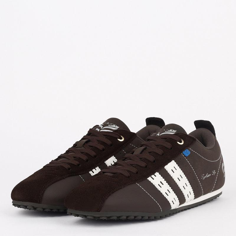 Q1905 Men's Sneaker Typhoon SP - Dark Brown/White