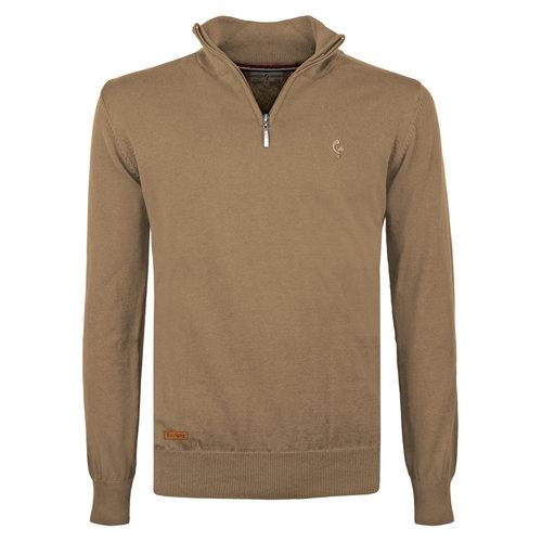 Men's Pullover Kralingen - Mid Brown