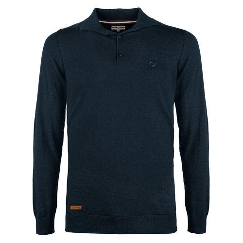 Men's Pullover Lunteren - Denim Blue