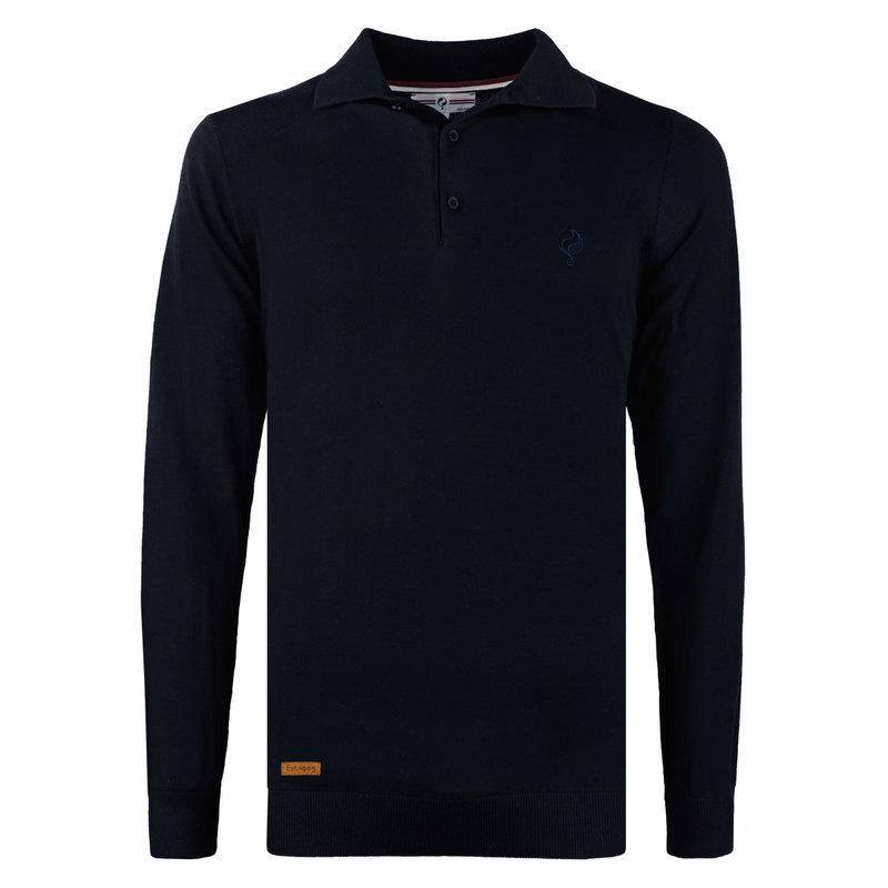 Q1905 Men's Pullover Lunteren - Donkerblauw