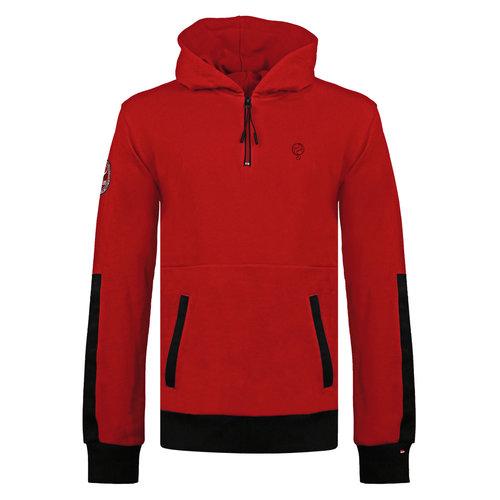Men's Pullover Rijnsburg - Dark Red/Black