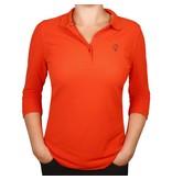 Q1905 Q1905 Women's 3/4 Polo Distance Orange