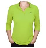 Q1905 Q1905 Women's 3/4 Polo Distance Light Green