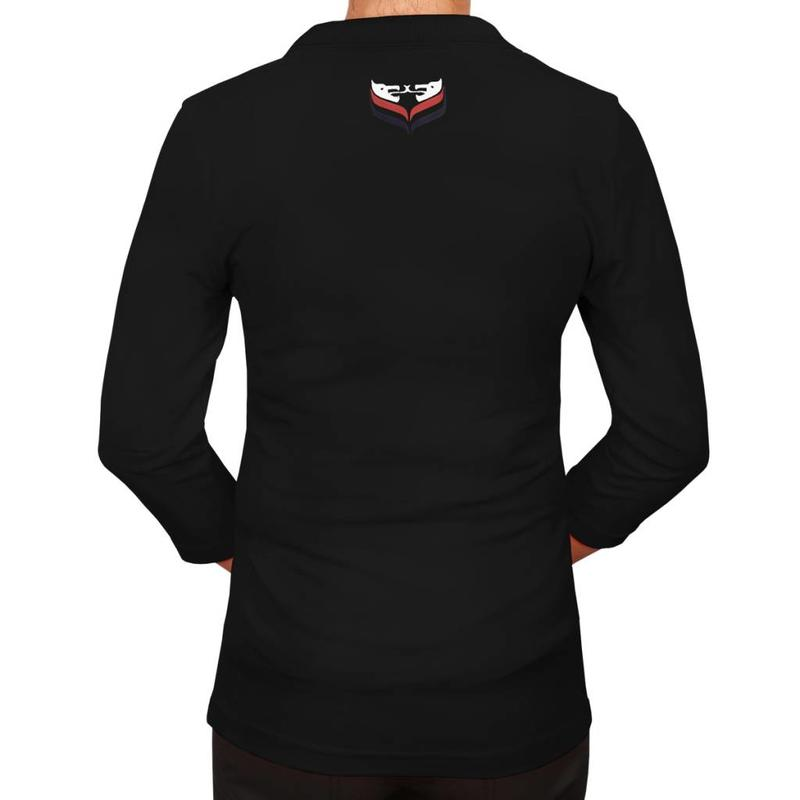Q1905 Q1905 Women's 3/4 Polo Distance Black