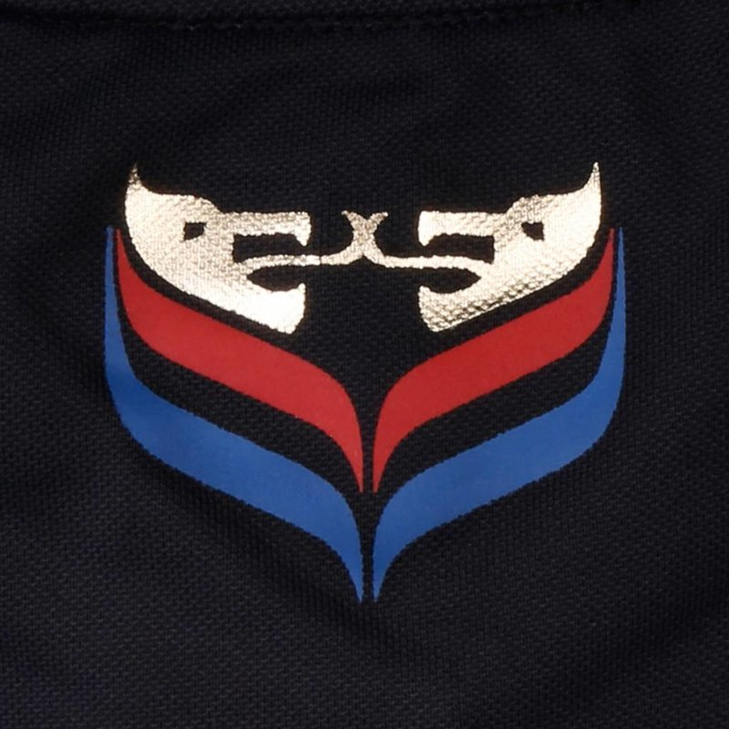 Q1905 Heren Polo JL Flag Deep Azul