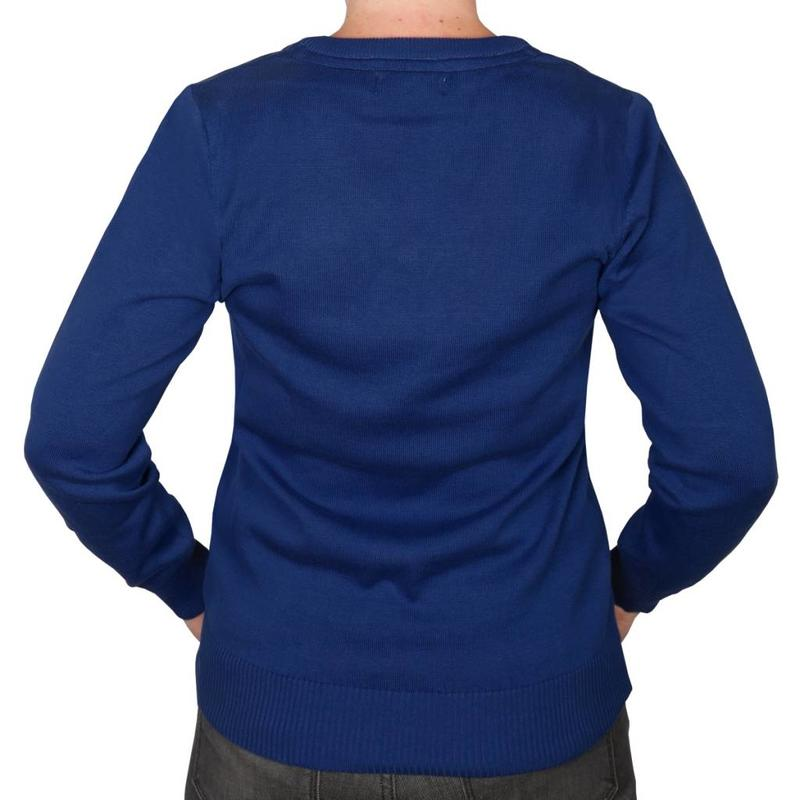 Q1905 Dames Pullover V-neck Maywood Skydiver