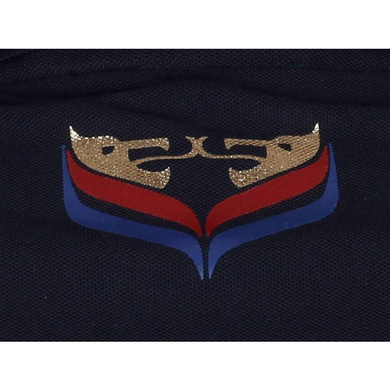 Q1905 Men's Golf Polo JL Flag Navy