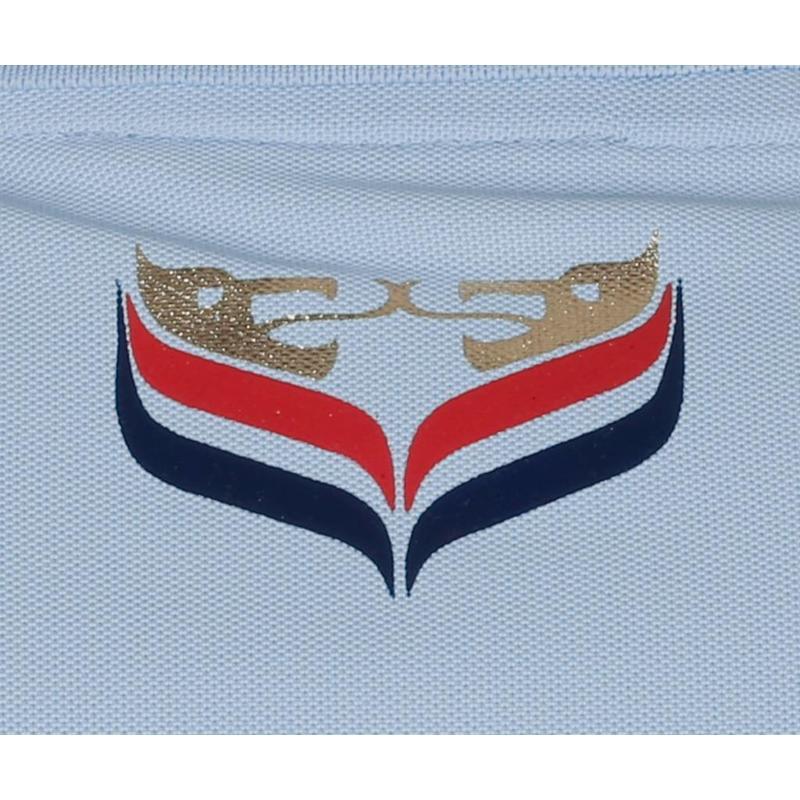 Q1905 Heren Polo JL Flag Lt Azul