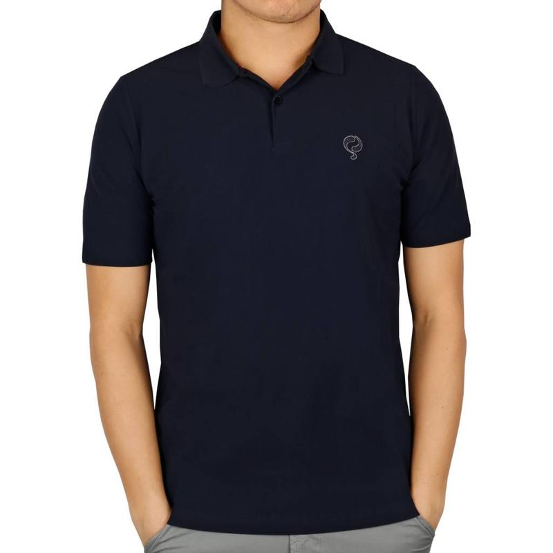 Q1905 Heren Polo JL Flag Navy