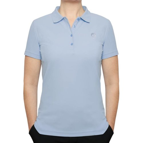 Women's Golf Polo Square Lt Azul