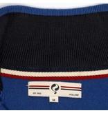 Q1905 Men's Pullover Half Zip Stoke Skydiver / Deep Navy