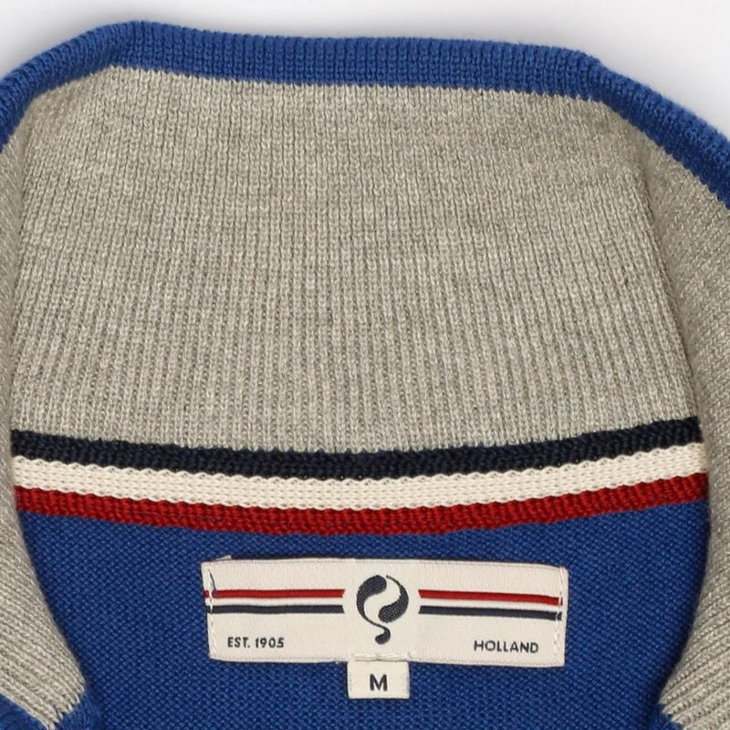 Q1905 Men's Pullover Half Zip Stoke Skydiver / Greyhound