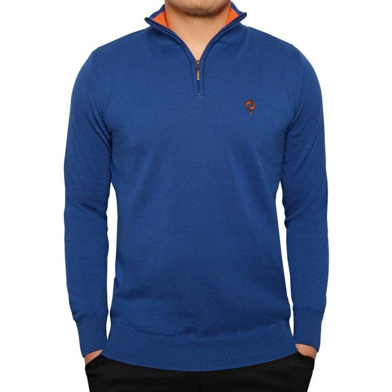 Q1905 Men's Pullover Half Zip Stoke Skydiver / Orange