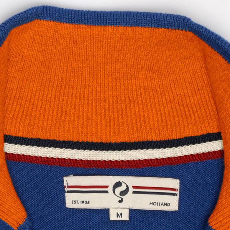 Q1905 Heren Pullover Half Zip Stoke Skydiver / Orange