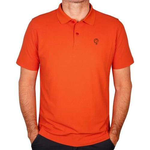 Q1905 Men's Polo JL Flag Orange