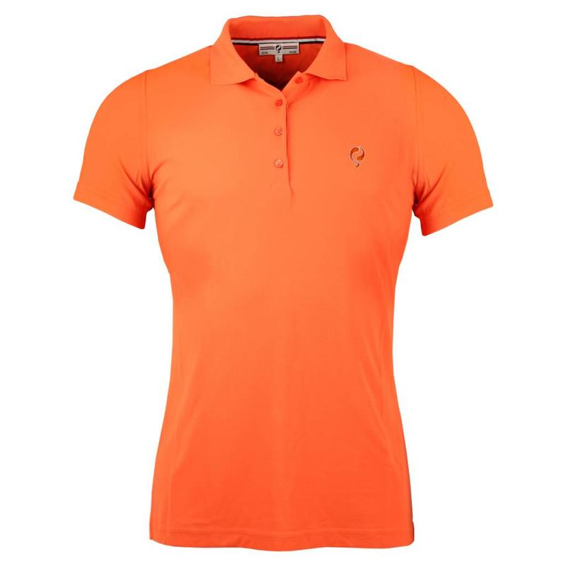 Q1905 Dames Polo Square Orange