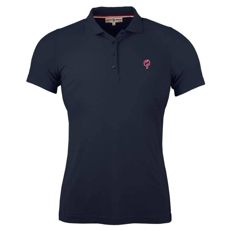 Q1905 Dames Polo Square Navy