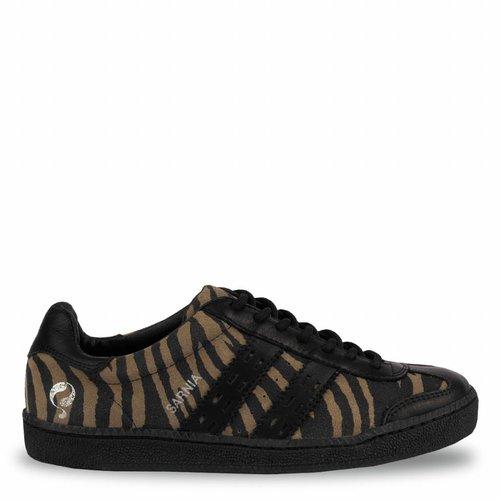 Women's Sneaker Sarnia Taupe / Black