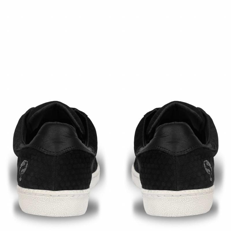 Q1905 Dames Sneaker Sarnia Black / Cloud Dancer