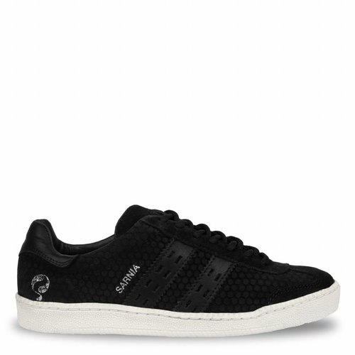 Dames Sneaker Sarnia Black / Cloud Dancer
