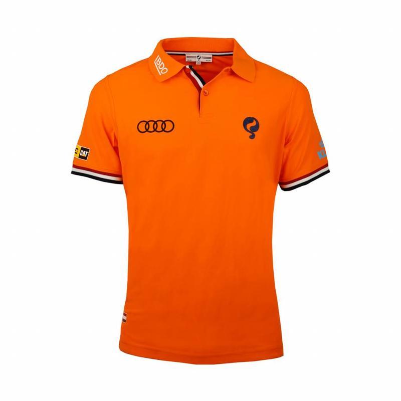 Q1905 Kids Polo Joost Luiten Special Edition Dutch Orange