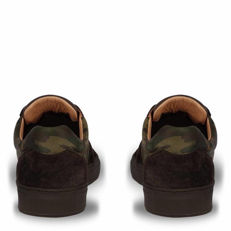 Q1905 Men's Sneaker Maurissen DLX Green Army / Dk Brown