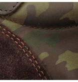Q1905 Heren Sneaker Maurissen DLX Green Army / Dk Brown
