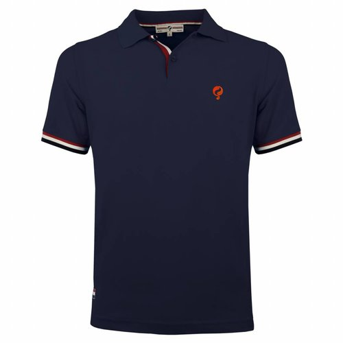 Men's Polo Joost Luiten Deep Navy