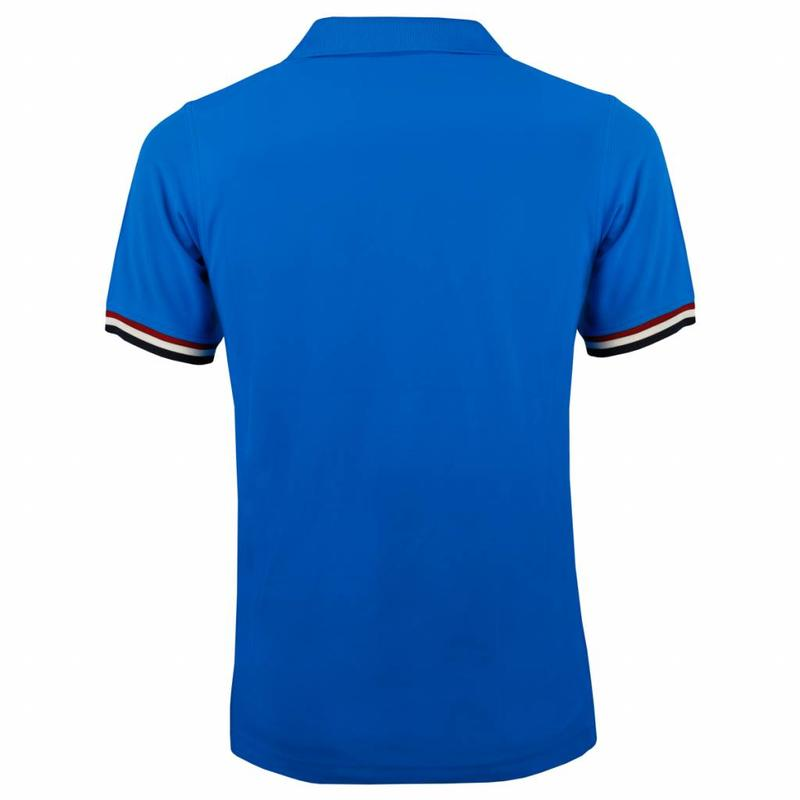 Q1905 Heren Polo Joost Luiten Dutch Blue