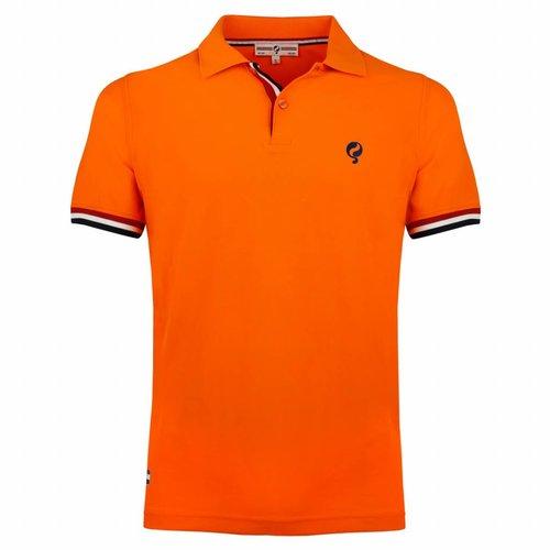 Heren JL Polo Dutch Orange