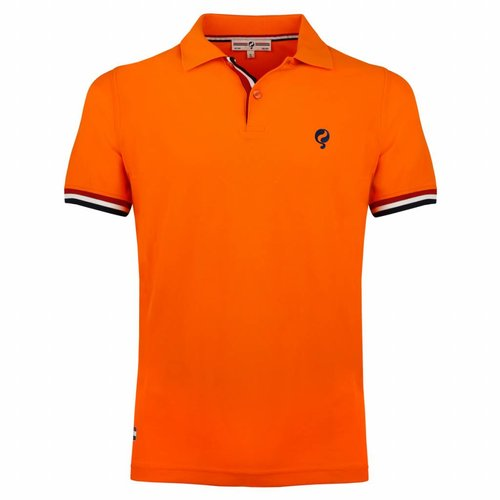 Heren Polo Joost Luiten Dutch Orange