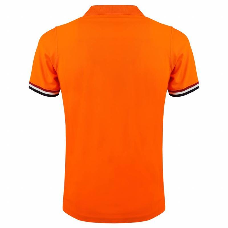 Q1905 Men's Polo Joost Luiten Dutch Orange