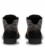Q1905 Heren Dakar Sneaker Argentina Black / Orange