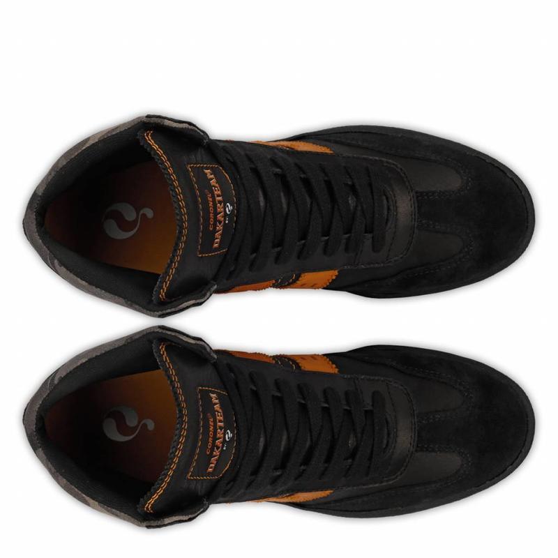 Q1905 Men's Dakar Sneaker Bolivia Black / Orange